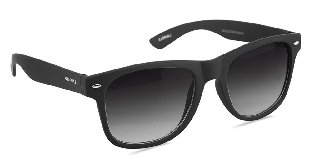 Laurels Urbane UV Protected Matt Finish Wayfarer Unisex Sunglasses