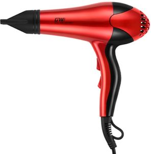 Guo Wei 2000W Professional Hair Dryer (Gw-Hd-683Red)