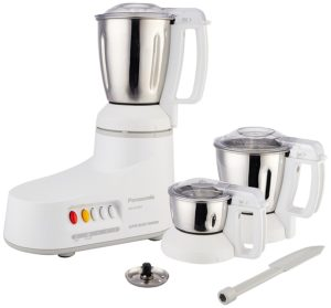 Panasonic MX-AC300S-H 550-Watt 3-Jar Super Mixer Grinder