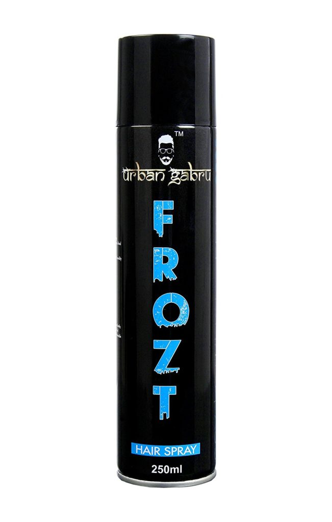 UrbanGabru Frozt Extreme Hold Hair Spray for Women and Men