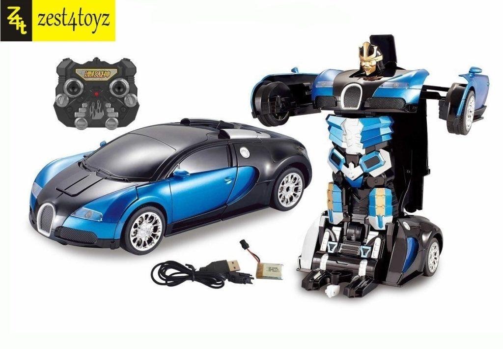 Zest 4 Toyz Bugatti Style Transformer