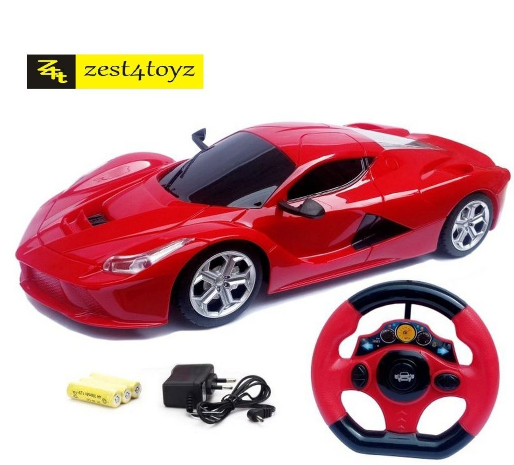 Zest 4 Toyz Steering Remote Control Racing Car