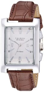 Laurels Imperial 2 Analog Silver Dial Mens Watch