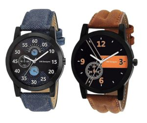 Om Designer Analogue Multicolor Dial Mens Watch
