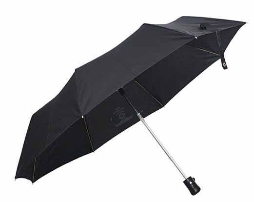Sun Brand Black Folding Umbrella