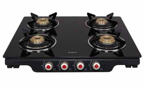 Elica Glass Gas Stove