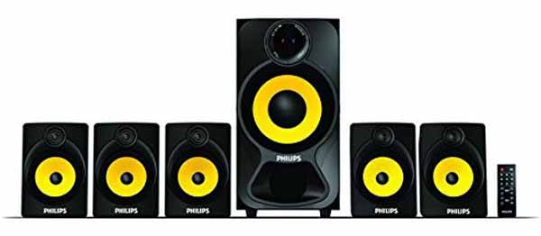 Philips Heart Beat SPA-3800B Home Theater