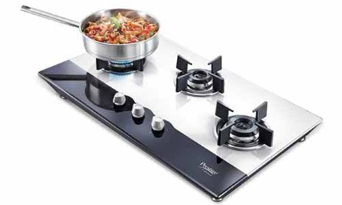 Prestige Hob Glass Top Gas Stove