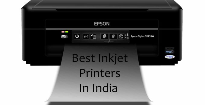 Best Inkjet Printers In India