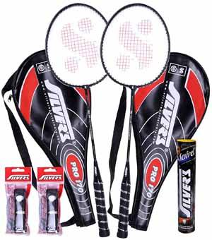 Silvers Pro-170 Marvel Plus Badminton Racket