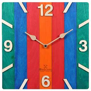 B SQUARE Wall Clock