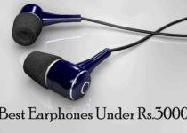 Best Earphones Under 3000