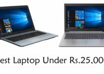 Best Laptop Under 25000 In India