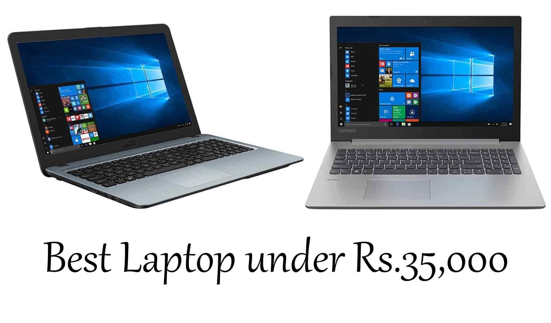 Best Laptop Under 35000 In India