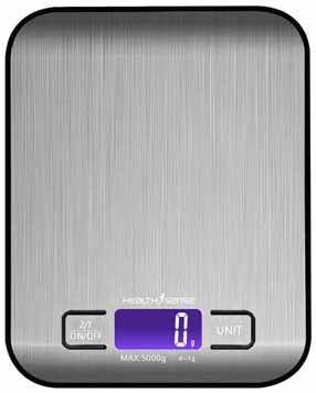 HealthSense Chef-Mate KS 50 Weighing Scale