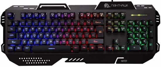 Night Hawk Nk101 Gaming Keyboard