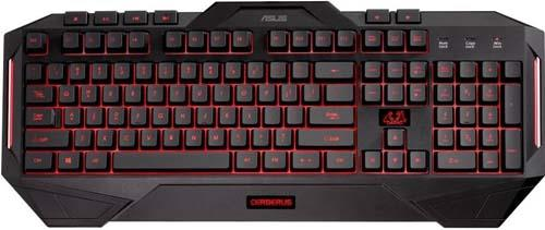 Asus Cerberus Gaming Keyboard