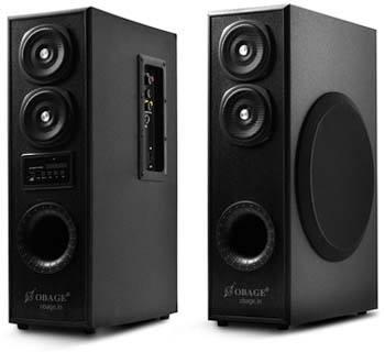 OBAGE DT-2425 Dual Tower Speaker